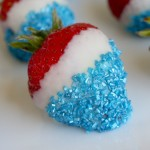 Red, White, and Blue Patriotic Strawberries