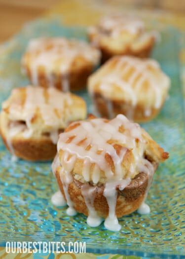 Gluten Free Dinner Rolls & Glazed Cinnamon Cream Cheese Rolls - Our ...