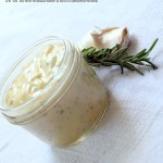 Homemade Garlic-Rosemary Mayonnaise