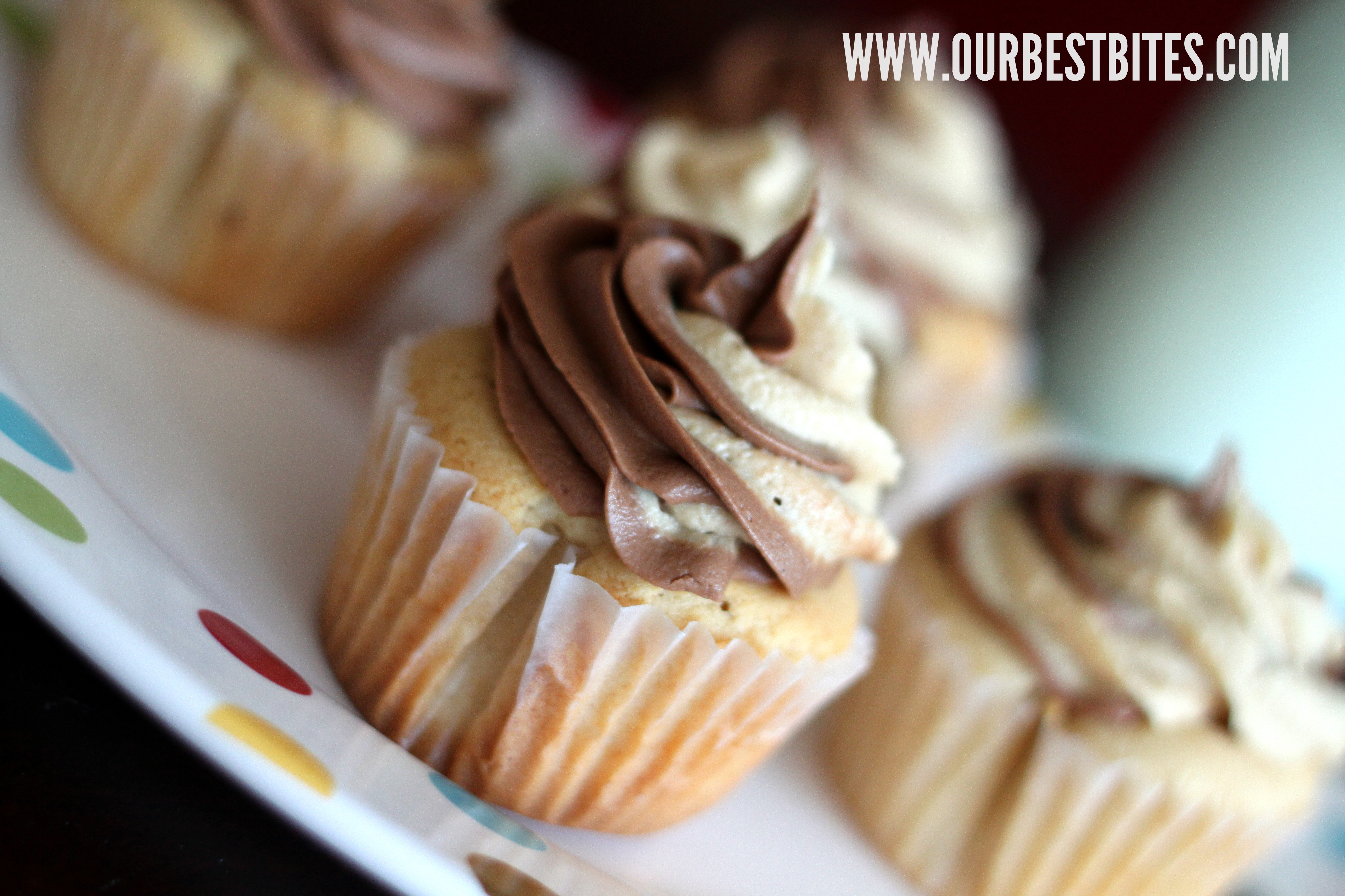 Chocolate Peanut Butter Cup Cupcakes - Our Best Bites