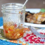 Spicy Peach BBQ Sauce