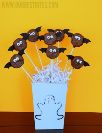 food gifts: not-so-spooky oreo bats tutorial