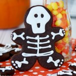 Skeleton Gingerbread Men Cookies