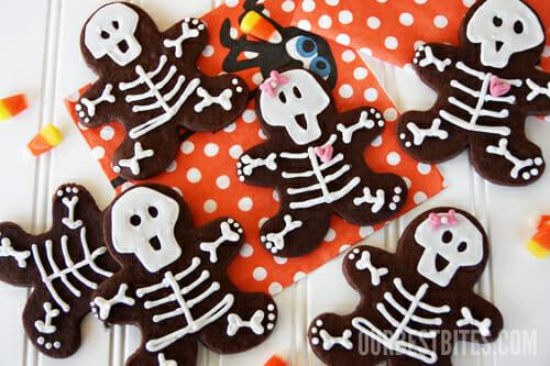 save - Halloween Gingerbread Cookies