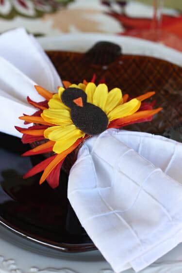 flower turkeys our best bites. Black Bedroom Furniture Sets. Home Design Ideas