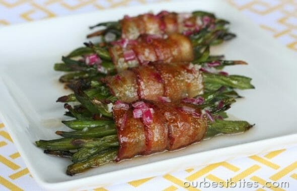 bacon wrapped corn bacon wrapped potatoes bacon wrapped apple sausage ...
