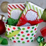 Candy Bar Wrapper Holiday Printable