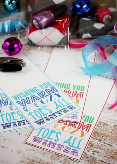 foto de Cozy Toes Holiday Printable | Our Best Bites