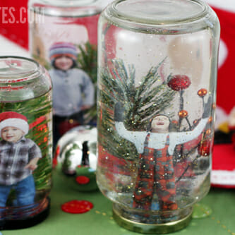 how to make a homemade snow globe fun and easy. Black Bedroom Furniture Sets. Home Design Ideas