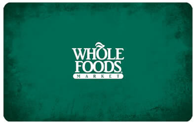 Whole Foods $150 Gift Card Giveaway