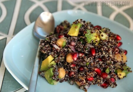 Citrus-Pomegranate Quinoa Salad