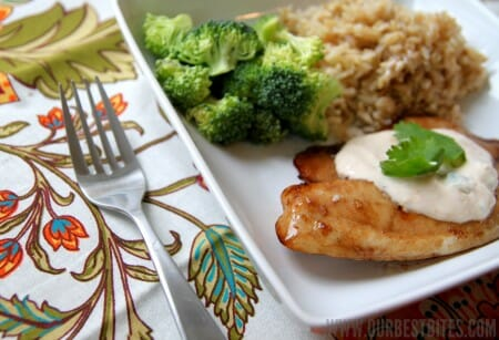 Honey-Ginger Glazed Tilapia