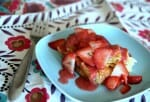 Cream Cheese-Stuffed Lemon French Toast with Strawberries