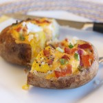 An Idaho Sunrise: Egg-Stuffed Baked Potatoes