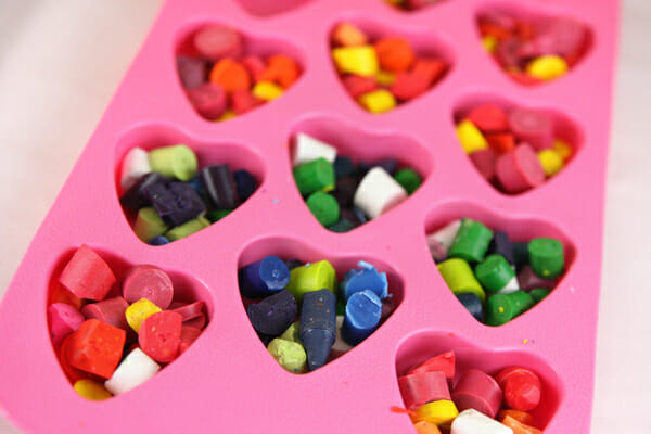 Muffin Tin Crayons Plus A Valentine Printable Our