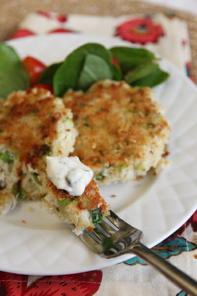 Quick Crab Cakes with Remoulade - Our Best Bites