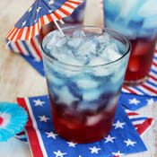Layered Patriotic Punch