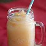 Slushy Peach Punch