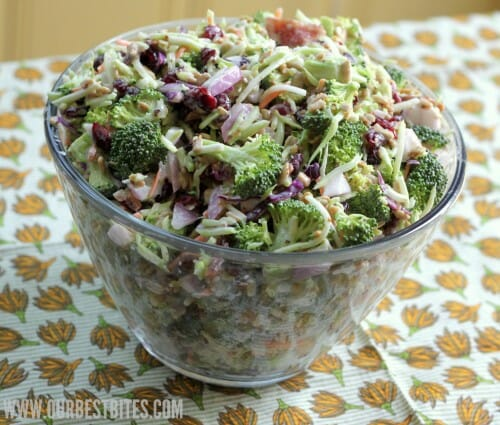 salad this broccoli salad is perfect the best broccoli salad you ll 1 ...