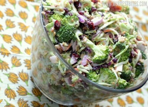 ... capers in lemon vinaigrette best broccoli salad is my broccoli salad