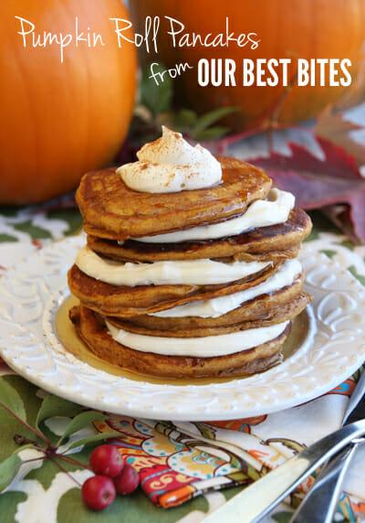 Pumpkin Roll Pancakes Our Best Bites