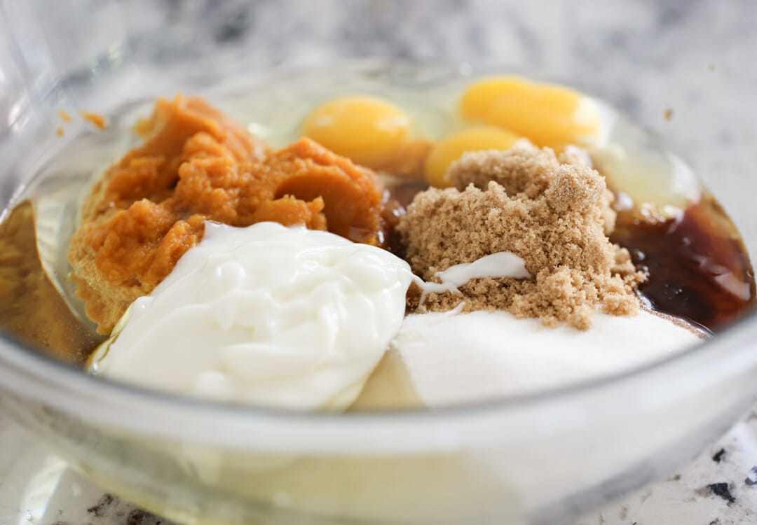 Pumpkin Bread Ingredients