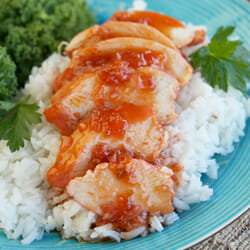 Easy Sweet and Sour Catalina Chicken