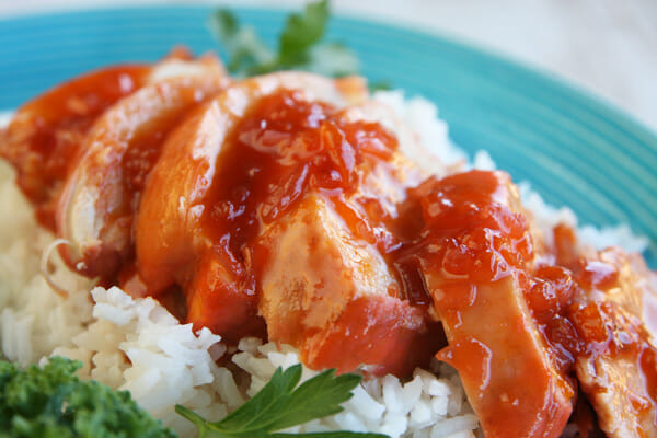Easy Sweet and Sour Catalina Chicken_prepared