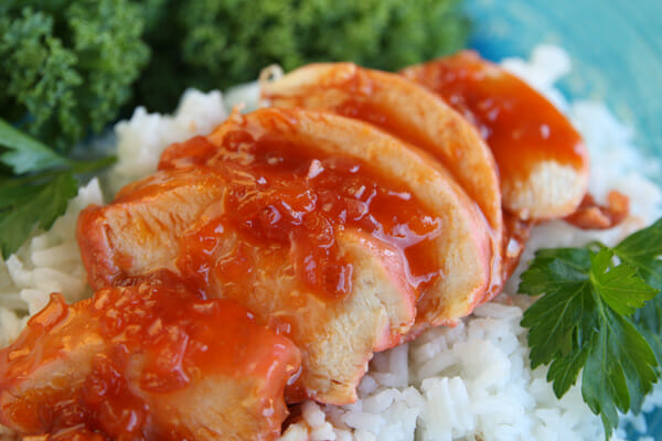 Easy Sweet and Sour Catalina Chicken_ready to eat