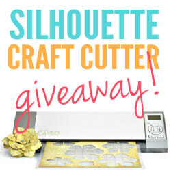 Silhouette Craft Cutter Giveaway!