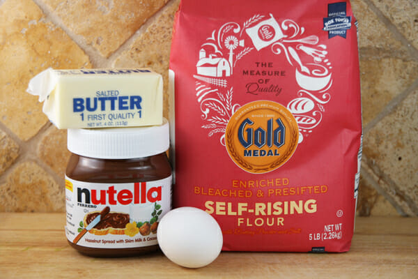 Four Ingredient Nutella Sandwich Cookies | Our Best Bites