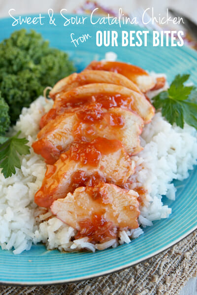 Easy Sweet and Sour Catalina Chicken_our best bites