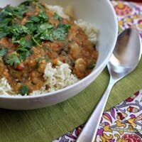 Slow-Cooker Indian-Spiced Lentils
