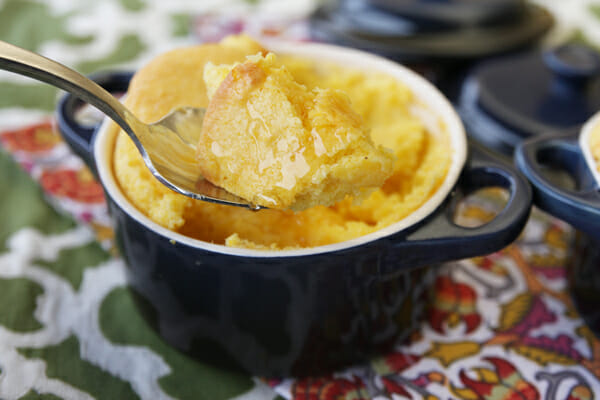 Sweet Corn Spoonbread {2 Ways!} - Our Best Bites