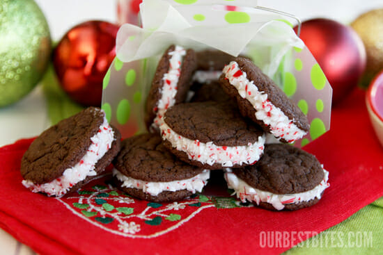 Soft Gingerbread Sandwich Cookies with Lemon-Creme Filling - Our Best ...