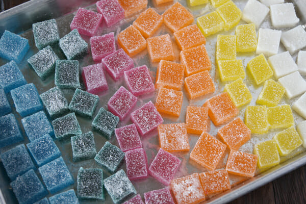 SPARKLY LADIES!: Sparkly Fruit Gummies