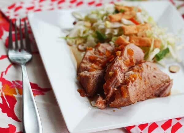 Honey-Orange Pork Tenderloin from Our Best Bites