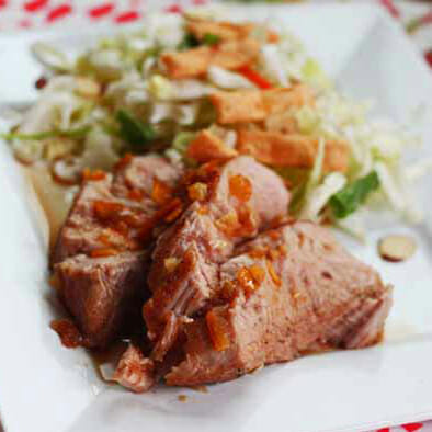 Honey-Orange Pork Tenderloin