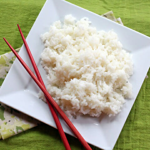 {Salty Sweet Carby} Sushi Rice