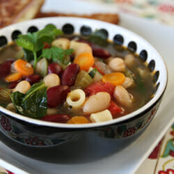 Veggie-Packed Minestrone Soup