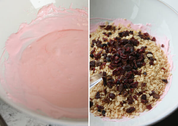 Berry Krispie Treats Mix-Ins