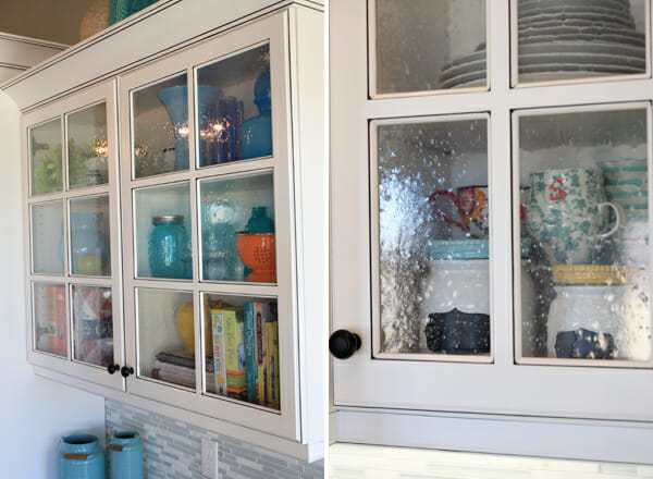 Bubble Glass Doors