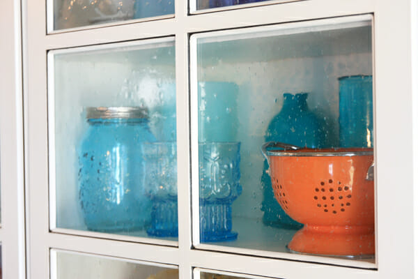 Bubble Glass Shelf