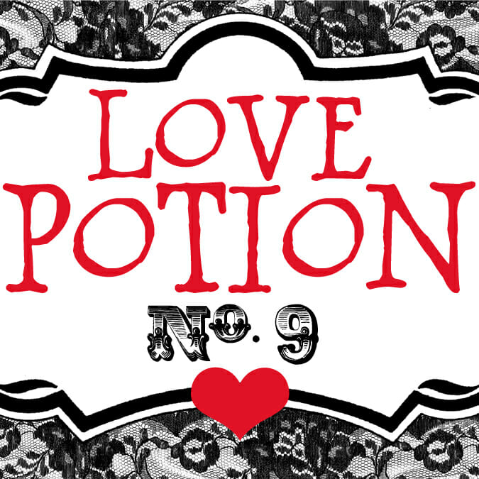 Love Potion {Free Printable!}