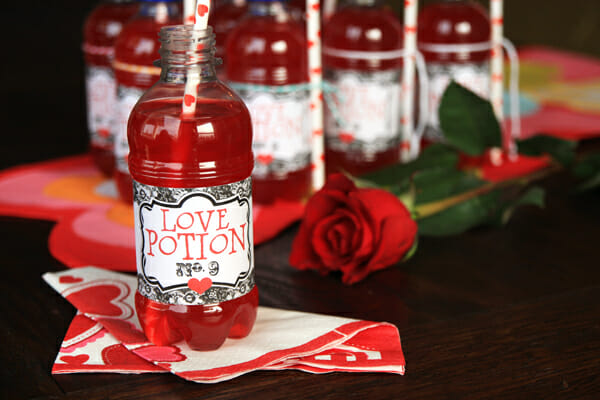 Love Potion Printable from Our Best Bites