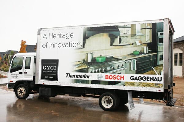Orson Gygi Truck