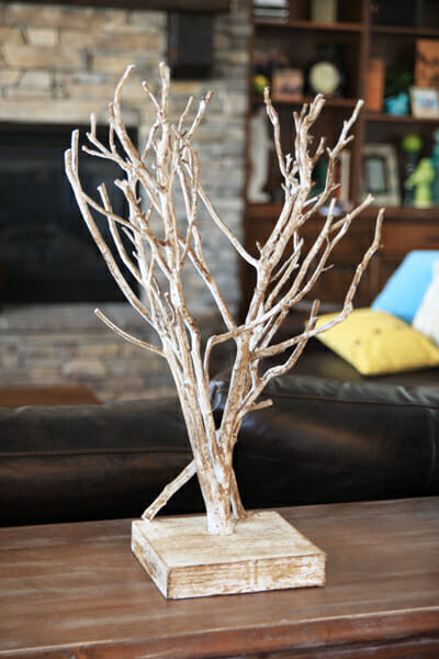 Single Twig Decor