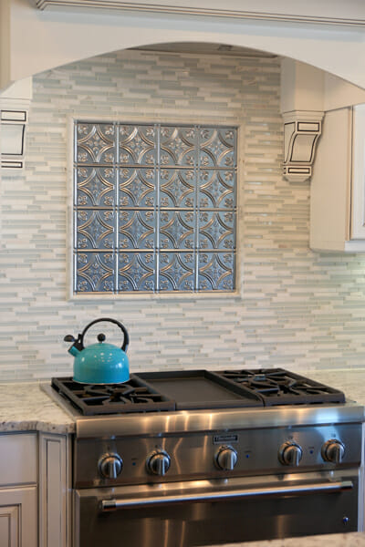Tin Tile Back Splash