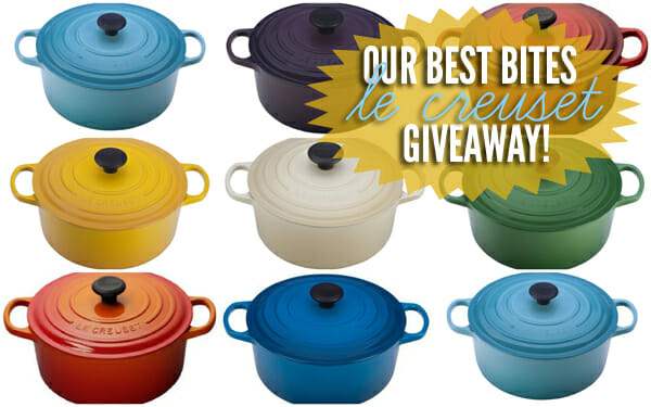 Our Best Bites Le Creuset Giveaway!