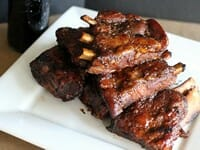 Cranberry & Cola-Glazed Babyback Ribs